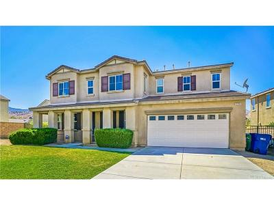 Palmdale Single Family Home For Sale: 2206 Thorncroft Circle
