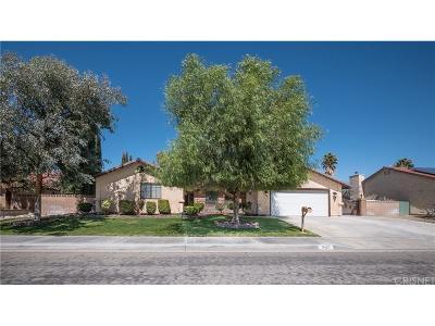 Lancaster Single Family Home For Sale: 1627 Park Somerset Street