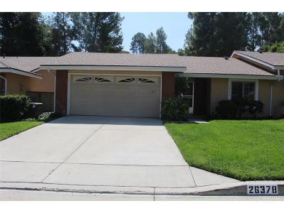 Los Angeles County Condo/Townhouse For Sale: 26378 Oak Plain Drive