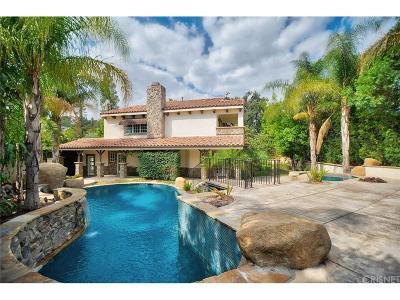 West Hills Single Family Home For Sale: 8620 Santa Susana Place