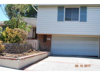 Newhall Single Family Home For Sale: 26229 Abdale Street