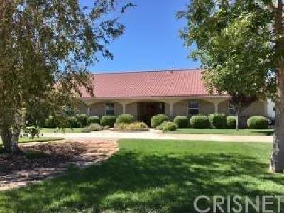 Lancaster CA Single Family Home Pending: $385,000