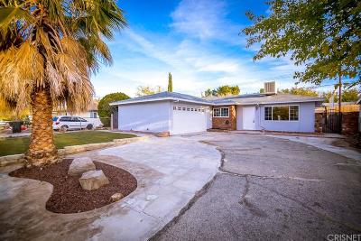 Palmdale Single Family Home For Sale: 38958 Deer Run Road