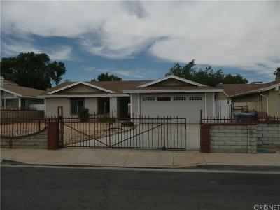 Palmdale Single Family Home For Sale: 2827 East Avenue R16