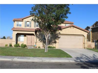 Palmdale Single Family Home For Sale: 38025 Desert Hawk Drive