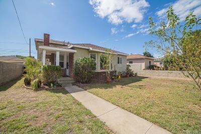Burbank Single Family Home For Sale: 823 North Sparks Street