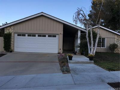 Agoura Hills Single Family Home For Sale: 4110 Defender Drive