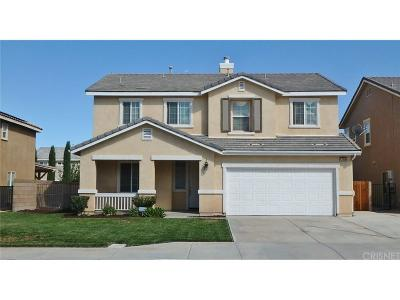 Lancaster Single Family Home For Sale: 43906 44th Street West