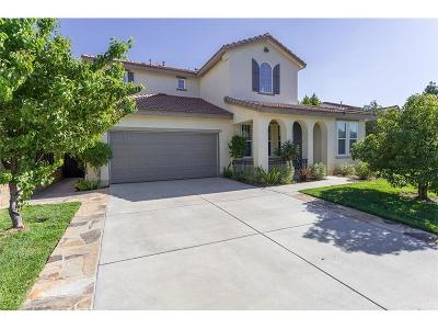 Valencia Single Family Home For Sale: 29128 Bernardo Way