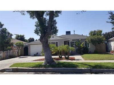 Los Angeles County Single Family Home For Sale: 8087 Wakefield Avenue