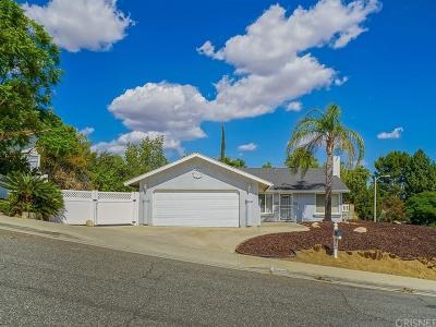 Saugus Single Family Home For Sale: 27390 Garza Drive