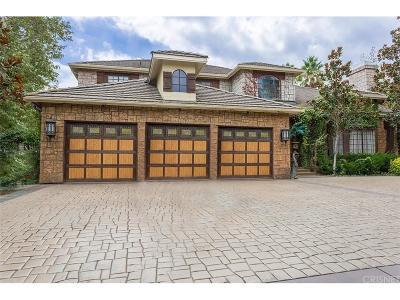 Agoura Hills Single Family Home For Sale: 3805 Davids Road