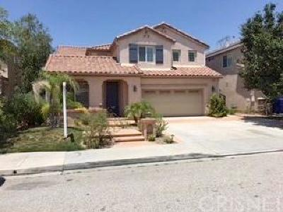 Valencia Single Family Home For Sale: 23927 Francisco Way