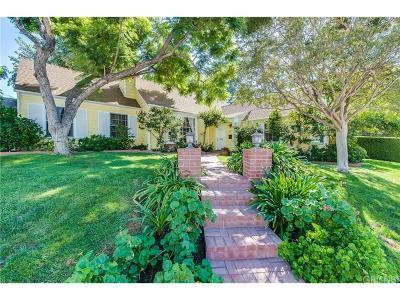 Sherman Oaks Single Family Home For Sale: 4117 Davana Road