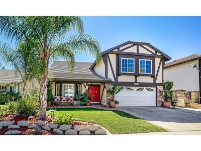 Saugus Single Family Home For Sale: 20528 Romar Lane