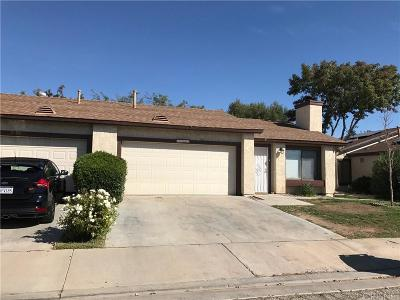 Palmdale Condo/Townhouse For Sale: 2941 East Avenue R4