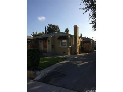Valley Village Single Family Home For Sale: 5216 Whitsett Avenue