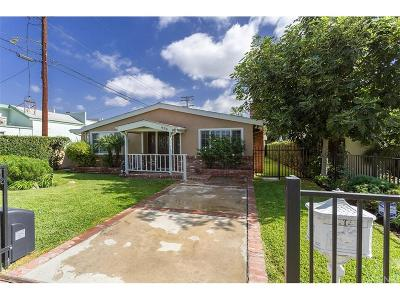 Burbank Single Family Home For Sale: 934 North Orchard Drive