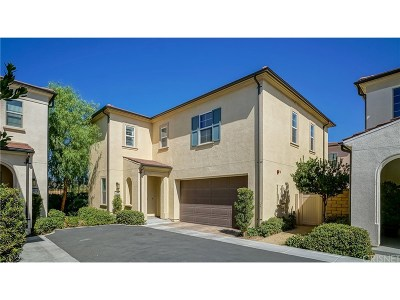 Saugus Single Family Home For Sale: 21885 Propello Drive #146