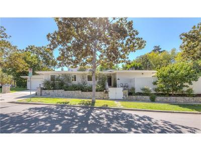 Sherman Oaks Single Family Home For Sale: 14090 Greenleaf Street