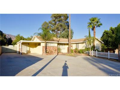 Sylmar Single Family Home For Sale: 13486 Glenoaks Boulevard