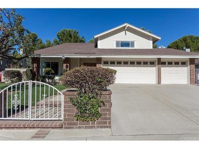 Thousand Oaks Single Family Home For Sale: 467 Thunderhead Street