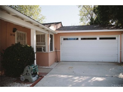 Simi Valley Single Family Home For Sale: 2048 Lupin Street