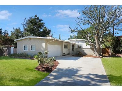 Northridge Single Family Home For Sale: 16534 Superior Street