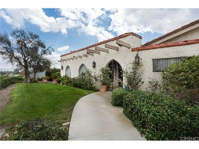 Simi Valley Single Family Home For Sale: 56 La Paz Court
