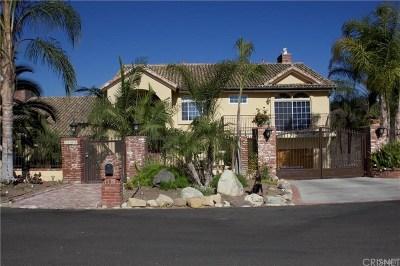 Camarillo Single Family Home For Sale: 3142 Subida Circle