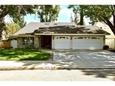 Valencia Single Family Home For Sale: 23832 Rotunda Road