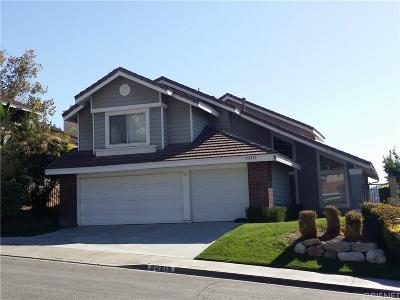 Saugus Single Family Home For Sale: 22215 Pamplico Drive