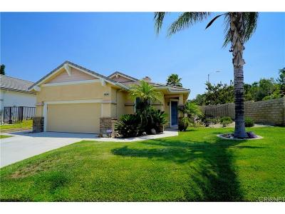 Saugus Single Family Home For Sale: 28302 Santa Catarina Road