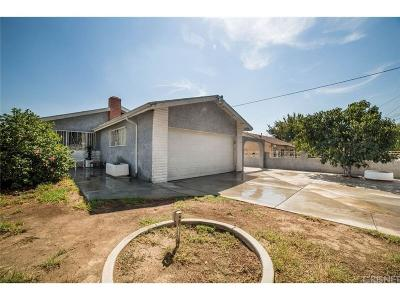 Sylmar Single Family Home For Sale: 13924 Aztec Street