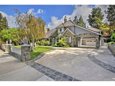 Tarzana Single Family Home For Sale: 3868 Vanalden Avenue
