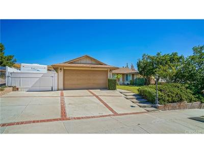 Canyon Country Single Family Home For Sale: 28202 Tambora Drive