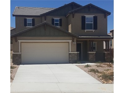 Palmdale Single Family Home For Sale: 37601 Citron Place