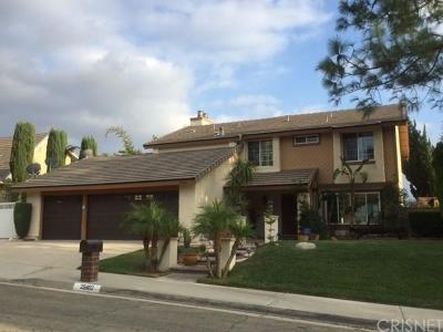 Valencia Single Family Home For Sale: 25402 Fortuna Drive