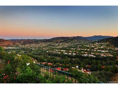 Calabasas Rental For Rent: 24754 Cordillera Drive