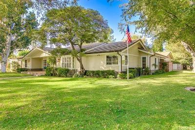 Valley Village Single Family Home For Sale: 4855 Carpenter Avenue
