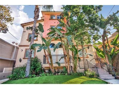 Toluca Lake Condo/Townhouse For Sale: 10924 Bloomfield Street #7