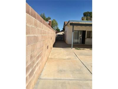 Palmdale Single Family Home For Sale: 37801 27th Street East