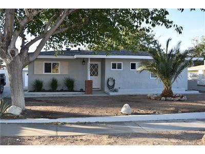 Palmdale Single Family Home For Sale: 38853 Ocotillo Drive
