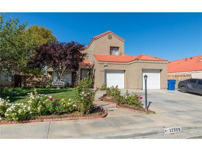 Palmdale Single Family Home For Sale: 37329 Scranton Court