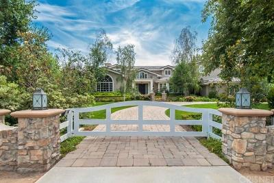 Hidden Hills Single Family Home For Sale: 23726 Long Valley