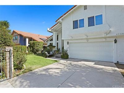 Single Family Home For Sale: 4044 Old Topanga Canyon Road