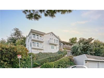 Sunset Strip - Hollywood Hills West (C03) Single Family Home For Sale: 3907 Fredonia Drive