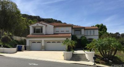 Tarzana Rental For Rent: 3835 Rock Hampton Drive