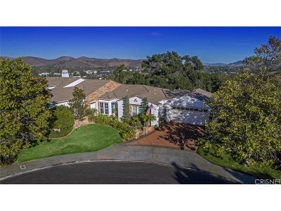 Westlake Village Single Family Home For Sale: 738 Coral Ridge Court