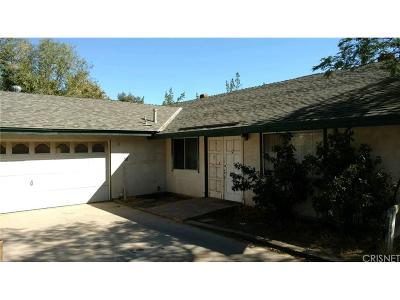 Acton Single Family Home For Sale: 31750 2nd Street